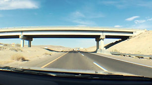 Road trip from California to Las Vegas