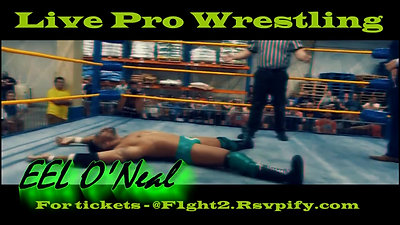 LIVE PRO WRESTLING In DC _ February 15th _ F1GHT Club- PUSH Crowing a Champion