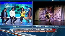 """In the News: Promocionando """"Esto No Es Un Juego"""""""