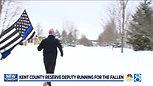 Reserve deputy to run across MI for fallen officers (Wood TV)