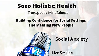 Building Confidence for Social Settings and Meeting New People
