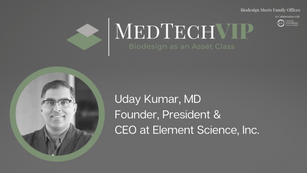 Uday Kumar, MD MedTECH VIDEO