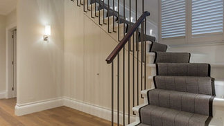 You design your own floor, choose the width, thickness, grade, bevel & colour