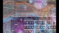 Music of cosmic mathematics.