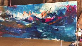 1. Tag Livemalerei A. Seils