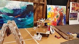 4. Tag Livemalerei A. Seils