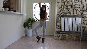 [4] Body Tracer Knee Follows Wrist | Hip Hop Hooping