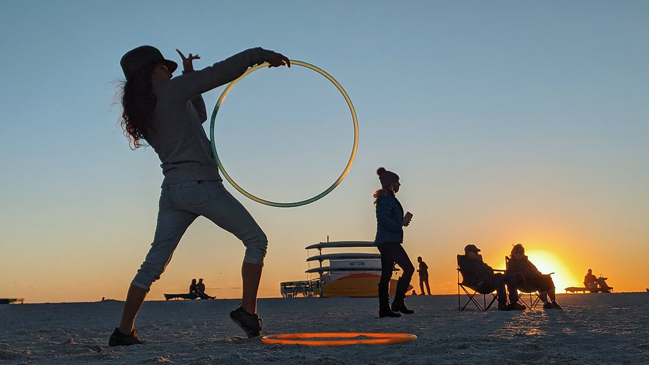 Hoop Trick Sequencing (Choreography)
