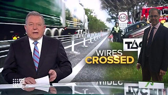 Channel 9 News - Wire Rope Barriers