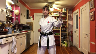 KITCHEN KARATE LESSON #6_Blocking_Outside Center Block