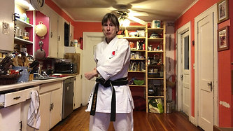 KITCHEN KARATE LESSON #7_Blocking_Inside Center Block