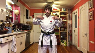 KITCHEN KARATE LESSON # 5_Blocking_Rising Block