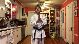 KITCHEN KARATE LESSON #8_Blocking_Knife Hand Block
