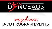 MY DANCE - ADD PROGRAM EVENTS