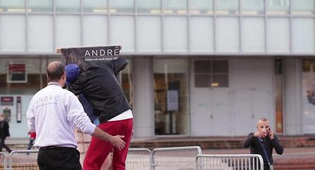 ANDRE  FLIRTEZ AVEC LA LIGNE  NOVEMBRE 2013