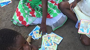MOMS Children Playing Cards