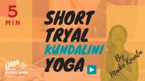 お試し①】SHORT KUNDALINI YOGA -クンダリーニヨガ- by Maiko Kurata