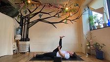 4/27 Healing yoga (おやすみ前のゴロゴロヨガ) by Maiko