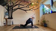 4/14 Quick Hatha yoga by Maiko Kurata