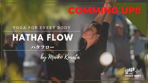 "9/26 am10時ごろ配信!】60min ""HATHA FLOW"" by Maiko Kurata"