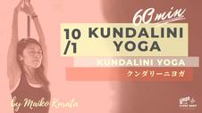 10/3 Kundalini yoga by Maiko Kurata