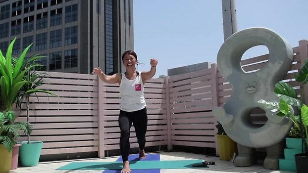 5/4 11:30-12:00 Kundalini yoga by Maiko Kurata