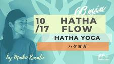 10/17 60min HATHA FLOW by Maiko Kurata