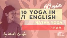 10/3 Yoga in English by Maiko Kurata