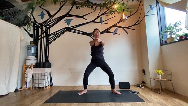 7/31 Hatha&Kundalini yoga (軸を創る-3rd Chakra activation) by Maiko Kurata