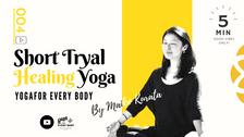 お試し④】SHORT HEALING YOGA -ヒーリングヨガ- by Maiko Kurata