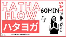 5/8 Hatha flow by Maiko Kurata
