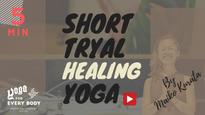 お試し①】SHORT MEDITATIVE YOGA  -お試しメエディテイティブヨガ クラス- by Maiko Kurata