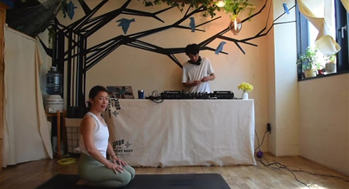 be you be well: yoga party