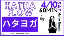 4/10 Hatha yoga by Maiko Kurata