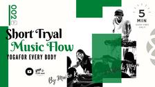 """お試し②】SHORT """"MUSIC FLOW"""" -お試しミュージックフロー  クラス- by Maiko Kurata x DJ Satoshi Miya"""