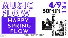 4/9 Music flow(Happy spring flow) by Maiko & DJ Satoshi MIya