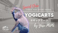 【Special guest teacher 】Yogicarts by Yasu-papa