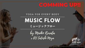 12/4 20:00頃配信スタート】30min MUSIC FLOW by Maiko Kurata x DJ Satoshi Miya