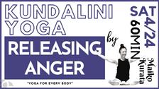 4/24 Kundalini yoga (Releasing anger) by Maiko Kurata