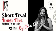"""ゲスト講師:Julia Doty】 """"Inner Fire"""""""
