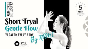"""ゲスト講師Nami】Vinyasa Flow Class ヴィンヤサフロー """"Gentle Flow"""" by Nami"""