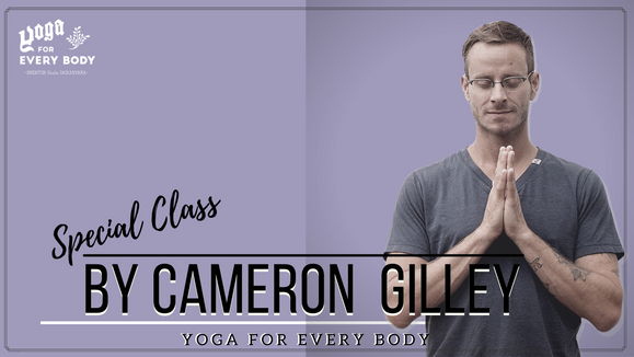 【Special Guest Teacher】Hatha yoga by Cameron Gilley