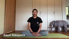 【インストラクター紹介】 Sayuri Nakayama