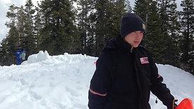 2016 VC Snow campout - who needs a tent! #snowcave
