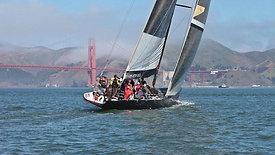 Venture Crew races around on the USA 76
