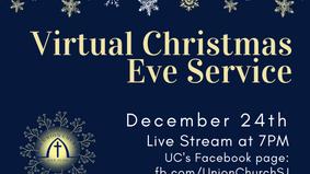 Christmas Eve Worship Service 2020