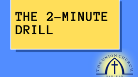 The 2-Minute Drill: Week 77 - Something I Really Want to Say