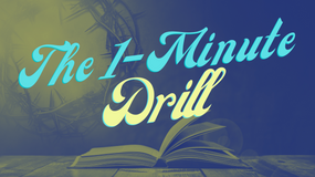 The 1-Minute Drill: The Christian Elevator Pitch