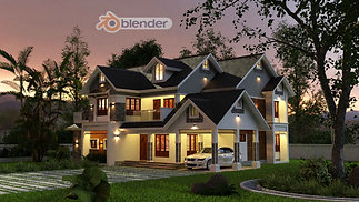 Blender 3D Architectural Designing Beginner to Pro