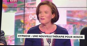 Catherine Roumanoff sur C-News présente son livre pour Maigrir avec l'hypnose